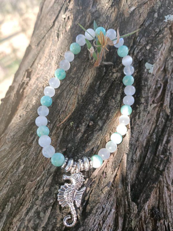 Ocean Bracelet ~ Blue Ripple